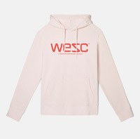 Реглан WeSC Fall18 Hoodie hooded sweatshirt milkshake -30%