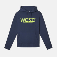 Реглан WeSC Fall18 Hoodie hooded sweatshirt navy blazer -50%