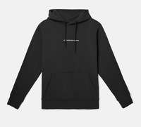 Реглан WeSC Fall18 Mike small chest logo hooded sweatshirt black -30%