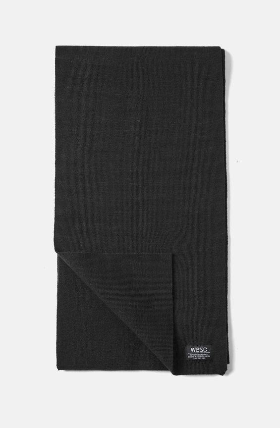 Шарф WeSC Fall18 Paco scarf black