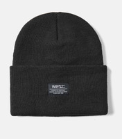 Шапка WeSC Fall18 Puncho beanie black -30%