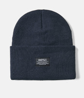 Шапка WeSC Fall18 Puncho beanie navy blazer -30%