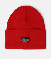 Шапка WeSC Puncho beanie flame scarlet -30%