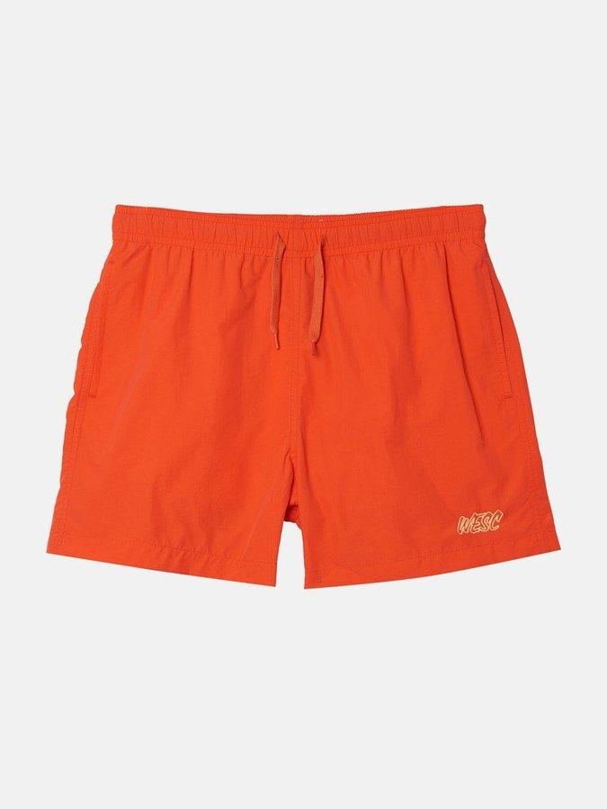 Пляжные шорты WeSC SS19 Zack swim pants paprika red -50%