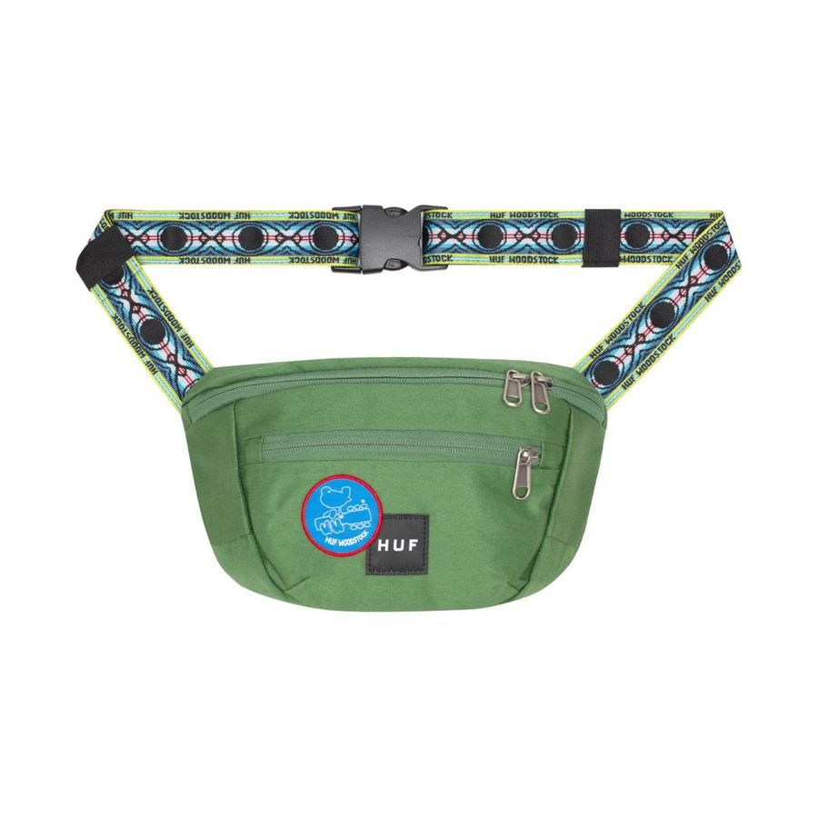 Сумка на пояс HUF FA19 Woodstock side trip bag olive