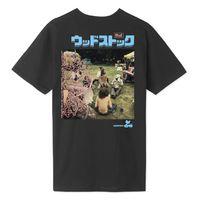Футболка HUF FA19 Woodstock ww culture tee black